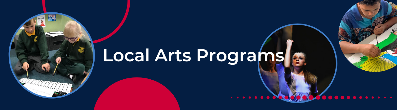 Local Arts Programs Home Page Banner