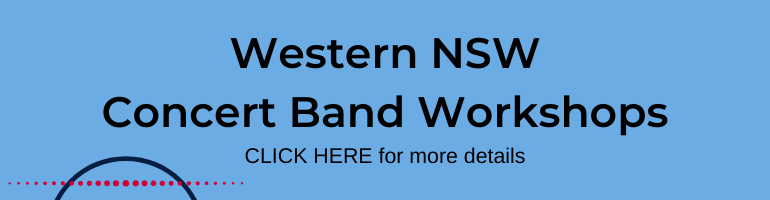 Select for Western NSW Concert Band Workshops