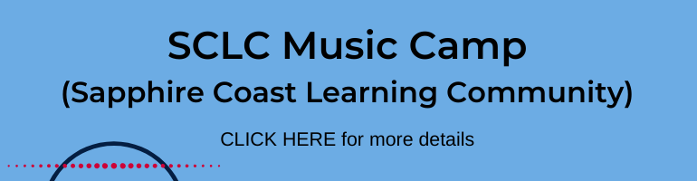 Click here for Sapphire Coast Learning Community Music Camp